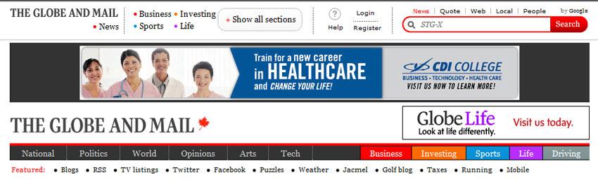 How not to design your website's header | Atomic Robot Design