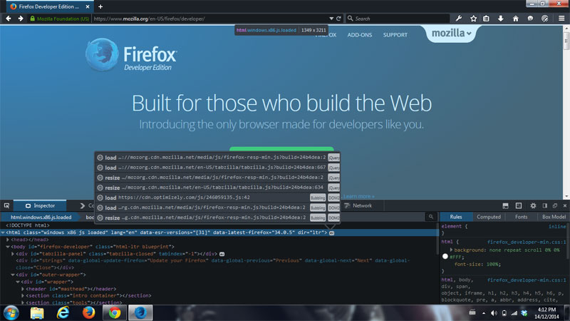 Give Firefox Developer Edition a shot | Atomic Robot Design